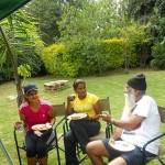 Francesca, Nadine and Surinder