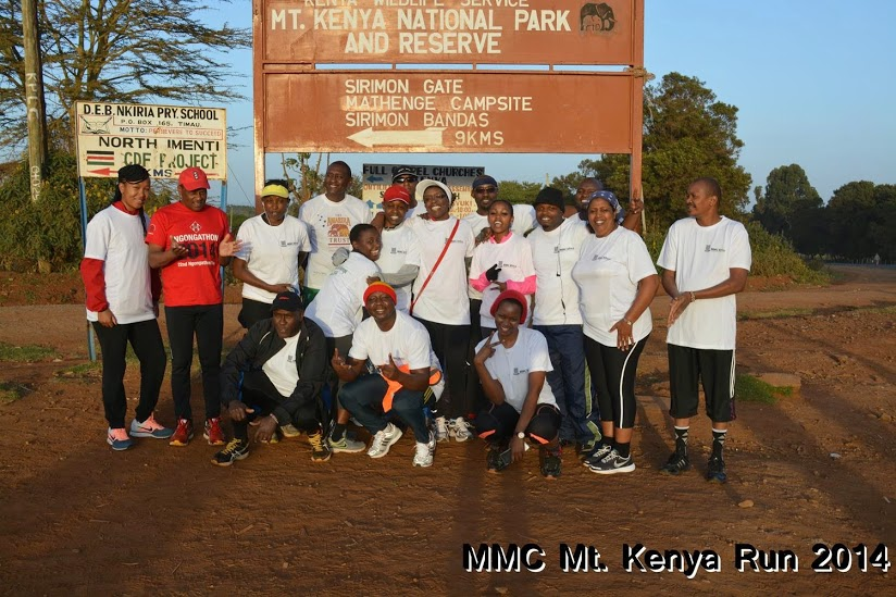 Mt Kenya Challenge 2014 - Karura Group