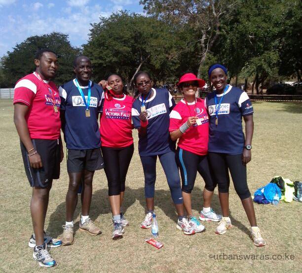 Vic Falls Marathon 2014