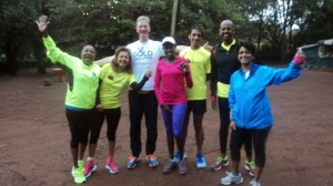 Dans Gold Challenge Run in Nairobi