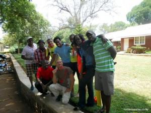 Kilimanjaro 42km team