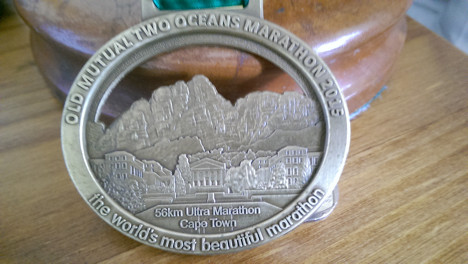 The two oceans medal