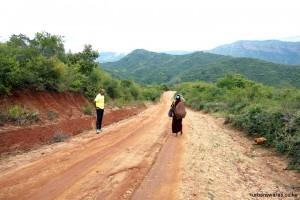 Abdi on Taita Hills