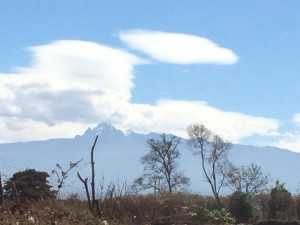 View of Mt Kenya