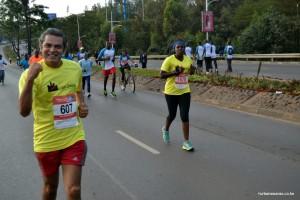 Ashok at Nairobi Marathon