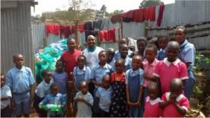 Ndichu and Otora at Childrens Home