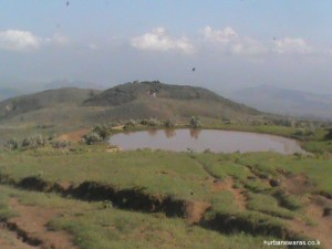 Lake on Eburu
