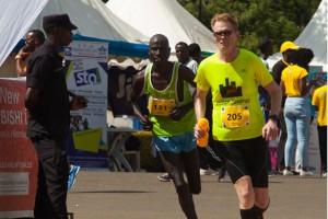 Leif at Kigali Marathon 2016