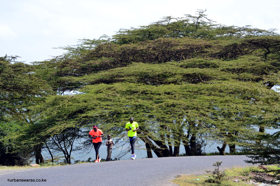 Mbarire at Magadi run