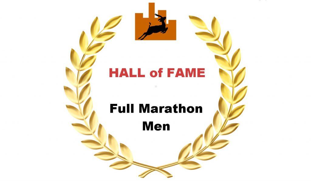 Hall of Fame - Full Marathon-Men