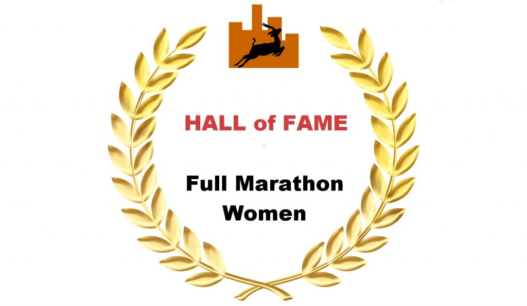 Hall of Fame - Full Marathon-Women