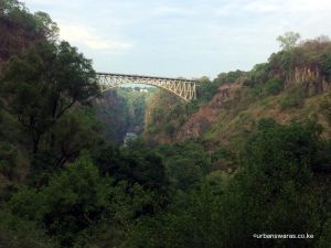 Bridge at VIctoria Falls