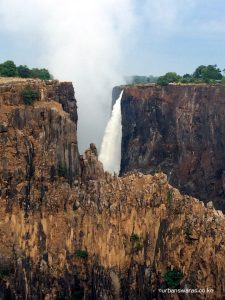 Cliffs at Victoria Falls