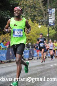 ny marathon - davis